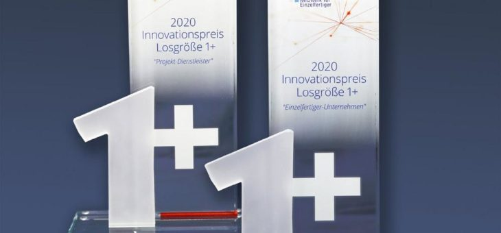 "ife-Award 2020 ""Innovationspreis Losgröße 1+"""