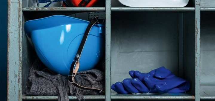 Ohrstöpsel, Schutzbrille, Helm & Co.