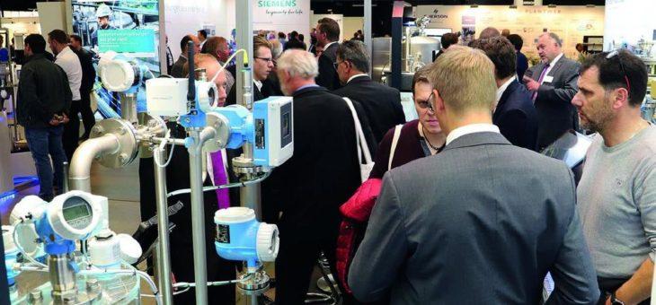 Messe für Prozess- und Fabrikautomation in Leverkusen