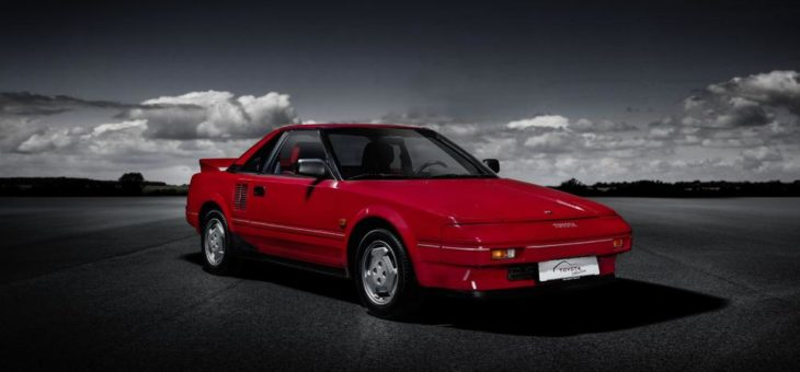 Legendärer Mittelmotor-Sportwagen Toyota MR2 in der Toyota Collection