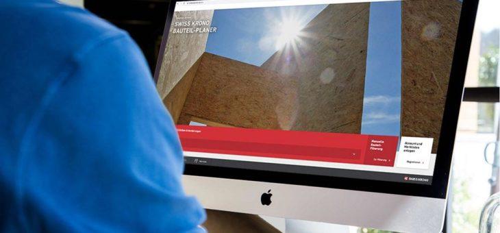 SWISS KRONO Timberplanner: Bauteil-Planer in das digitale Zeitalter überführt