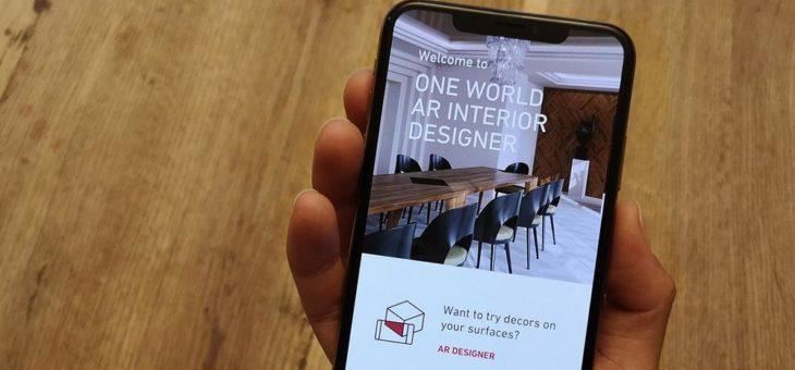 Custom interior design made easy thanks to ONE WORLD AR Interior Designers