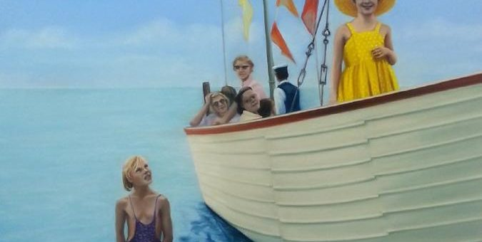 A perfect day … Diana Rattray stellt in der fiftyfifty-Galerie aus