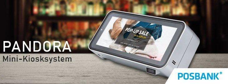 POSBANK Pandora – Mini-Kiosk-System