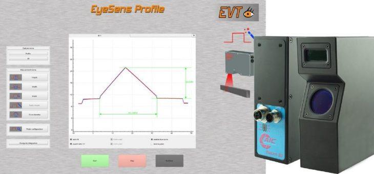 EyeSens 3D Profile – die Profil-Inspektion mit dem Single-Button Betrieb