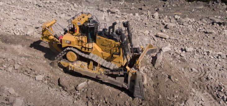 Neuer Cat Kettendozer D11 senkt die Kosten pro Tonne