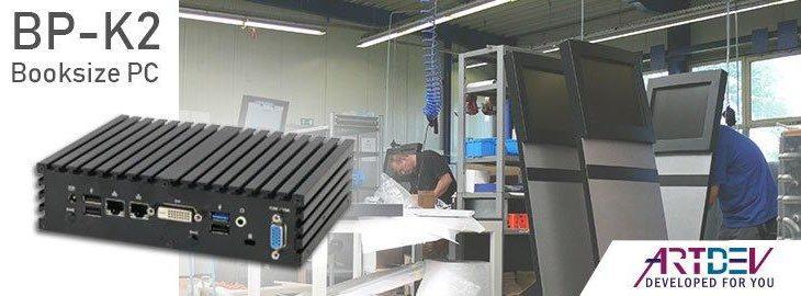 ARTDEV BP-K2 – Lüfterloser Embedded PC