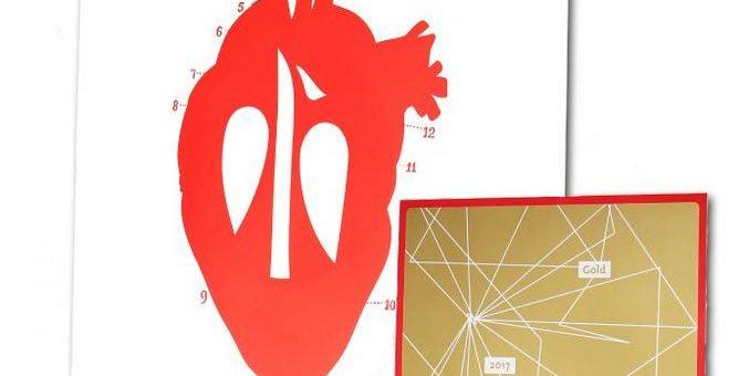 >>Matters of the heart<< – der Scheufelen Kalender 2017 in Gold prämiert