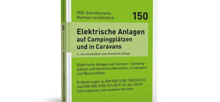 Erläuterung der Anforderungen an elektrische Anlagen auf Campingplätzen sowie in und um Caravans