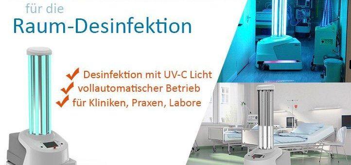 Die Hartmann GmbH aus Hainichen bietet ab sofort eine innovative Raumdesinfektion die auch gegen das Corona-Virus wirksam ist!