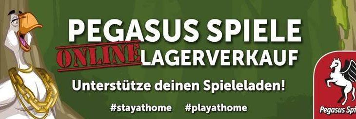 Pegasus Spiele Fachhandels-Kampagne
