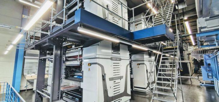 Neue Druckmaschine der Mediengruppe Vorländer ist eine Weltpremiere