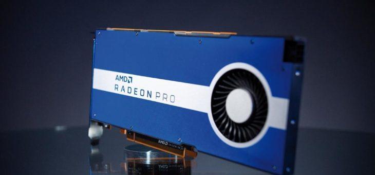Brandneu! – Die AMD Radeon Pro W5500 Workstation-Grafikkarte