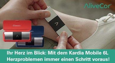 Offizieller Verkaufsstart des Kardia Mobile 6L in Deutschland