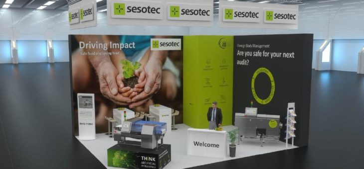Sesotec präsentiert virtuellen interpack-Messestand