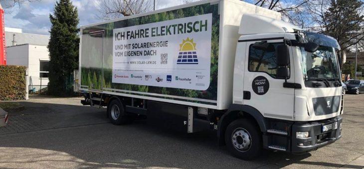 Projekt »Lade-PV« gestartet: Fahrzeugintegrierte PV für Elektro-Nutzfahrzeuge