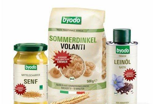 Qualität bleibt Erfolgsfaktor Bio-Feinkost Marke Byodo wächst um 13,3 Prozent