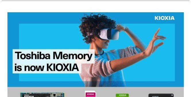 KIOXIA gibt neuen Markennamen seines Consumer-Produktportfolios bekannt