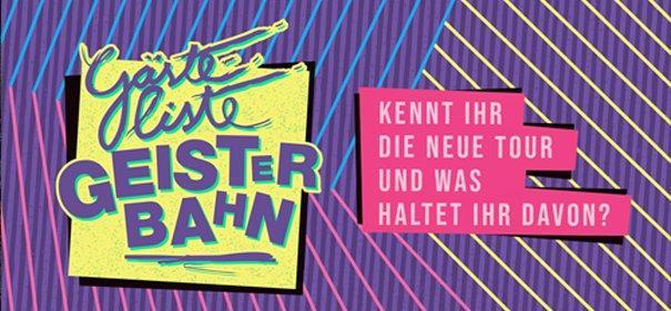 Gästeliste Geisterbahn – erste Shows nach 2 Tagen ausverkauft!