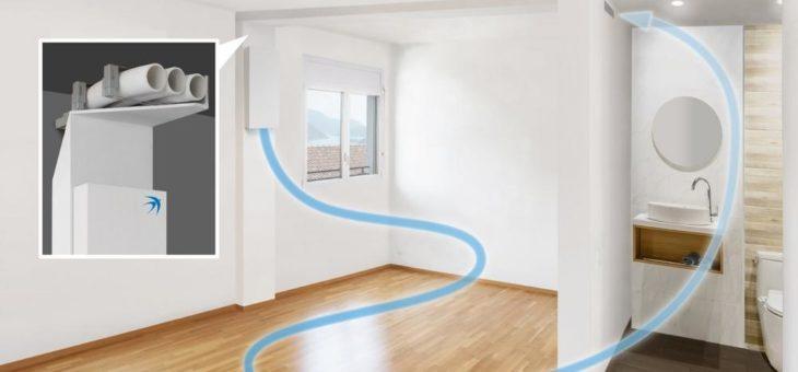 Effizient sanieren: Wohnraumlüftung freeAir mit cleverer Badentlüftung