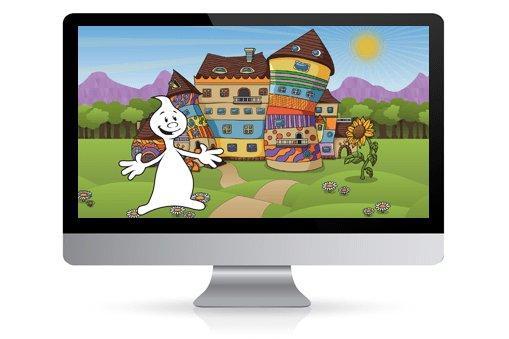 Ein Geist geht online: Panvision setzt ALFONS Lernwelt als Webanwendung um