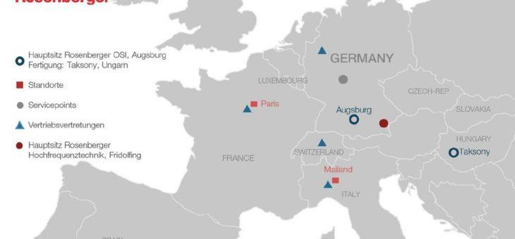 Rosenberger OSI erweitert Sales-Aktivitäten im osteuropäischen sowie russischen Markt