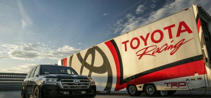 Schnell, schneller, Land Speed Cruiser: Toyota Offroader mit 2.000 PS setzte Vmax-Rekorde