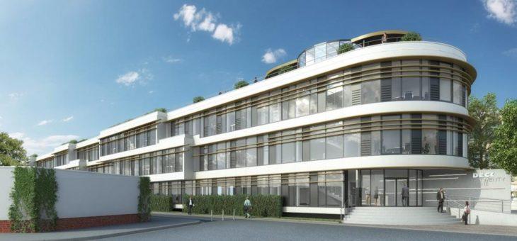 Vollvermietung der Büroflächen im Neubauprojekt DECK 21