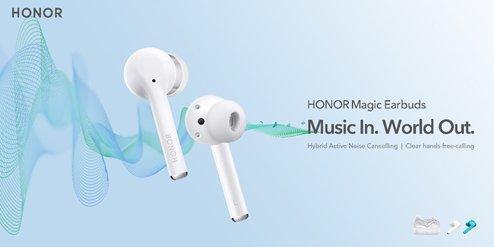 Großer Sound für alle: Die HONOR Magic Earbuds sind da