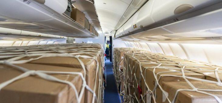 Großes Interesse an Services für vorübergehend veränderte Nutzung von Passagiermaschinen als Frachtflugzeuge