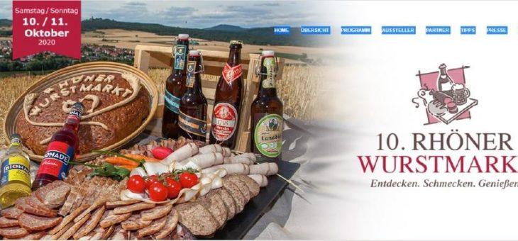 Rhöner Wurstmarkt findet virtuell statt