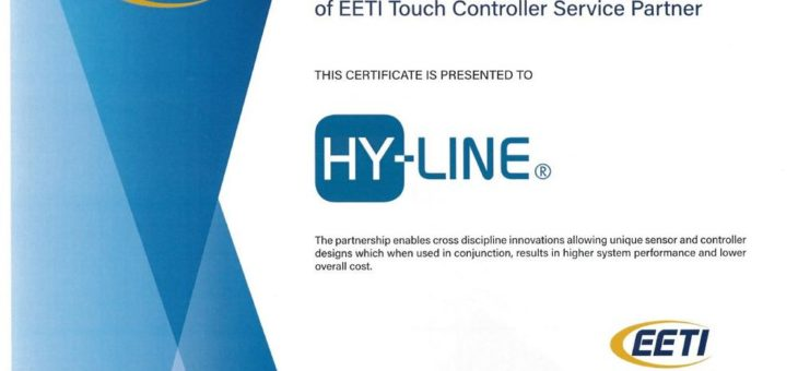 HY-LINE: EETI Touch Controller Service Partner