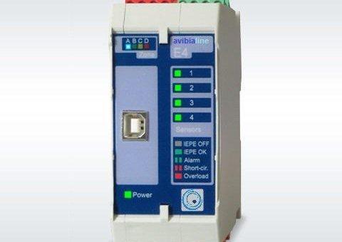 AvibiaLine – Maschinenüberwachung und Wälzlagerdiagnose in einem kompakten Gerät