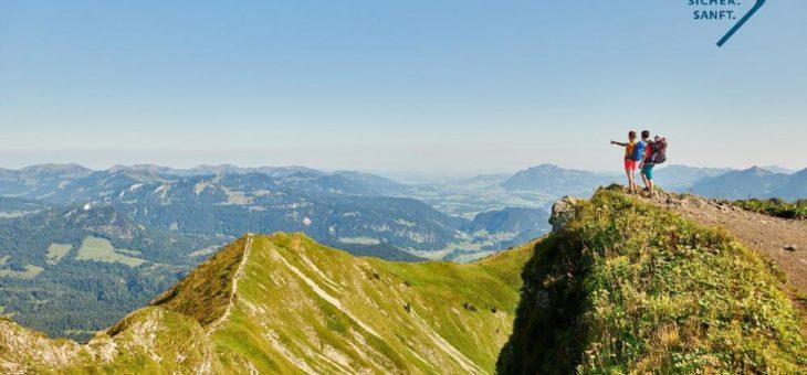 Verantwortungsvolle Vorbereitung auf den Sommer in den Bergen: sorgsam, sicher, sanft!