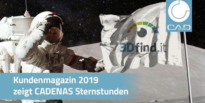 Kundenmagazin: Rückblick 2019 zeigt, wie CADENAS mit innovativen Technologien wieder vollkommen neue Welten erschließen konnte