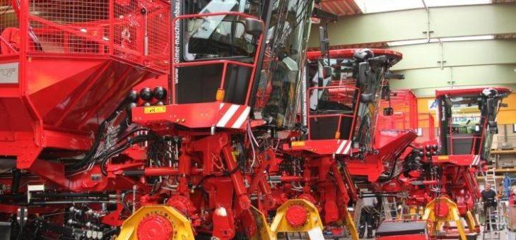 Keine Einschränkungen durch COVID-19: Holmer-Produktion läuft planmäßig