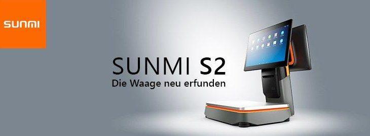 Sunmi S2 – All-in-One Touchkasse mit integrierter Waage
