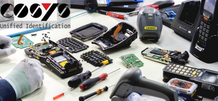 Reparatur von Datalogic Formula 734 MDE Geräten