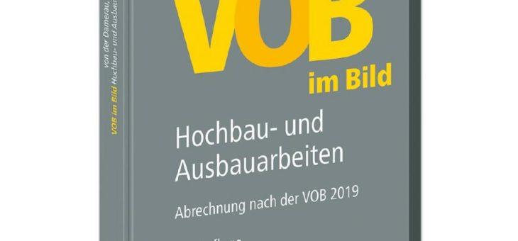 Neu erschienen: VOB im Bild – Hochbau- und Ausbauarbeiten