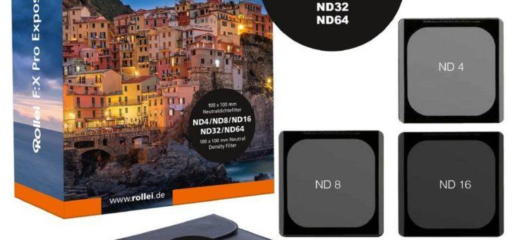 Rollei präsentiert Filter-Sets der 'F:X Pro'-Serie