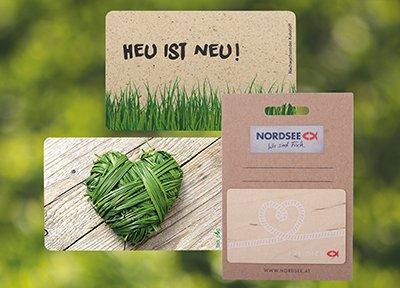Nachhaltige Eindrücke hinterlassen mit Kunden- und Geschenkkarten von All About Cards
