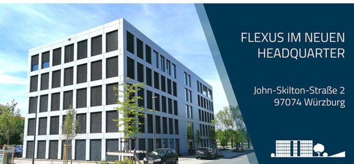 Flexus bezieht neues Headquarter in Würzburg