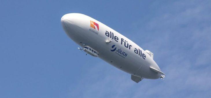 Zu Pfingsten startet der Zeppelin in die Flugsaison 2020