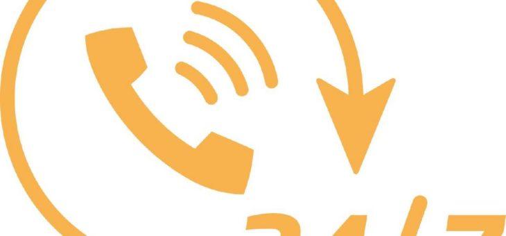 Unsere 24/7 Hotline: Heißer Draht statt lange Leitung!