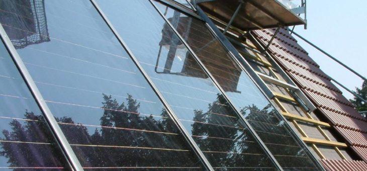 Mobilität und Wärme vom Dach
