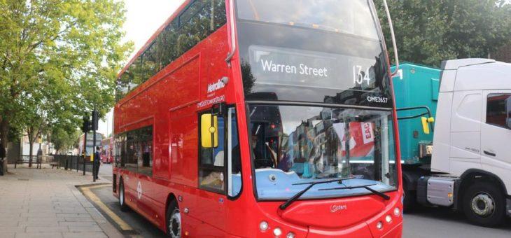 ZF elektrifiziert London: Neuer Auftrag für Elektroportalachse AxTrax AVE