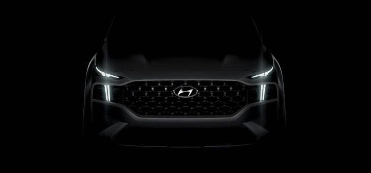 Hyundai veröffentlicht ersten Eindruck des überarbeiteten Santa Fe