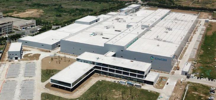Schweizer Electronic AG: Produktionsstart am neuen Standort in China