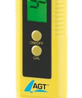 AGT Digitales pH-Wert-Testgerät mit ATC-Funktion & LCD-Display, pH 0 – 14
