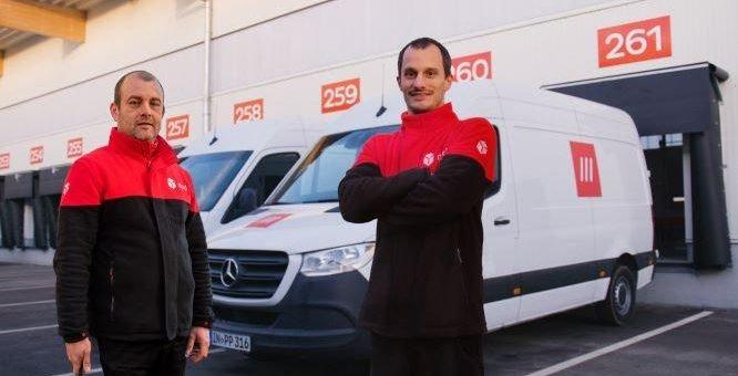 Test von Mercedes-Benz Vans, DPD und what3words zeigt 15 Prozent Effizienzsteigerung durch innovative Adressierungslösung für die Paketzustellung